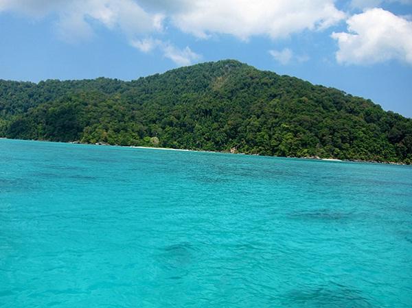 Very turquoise beach
