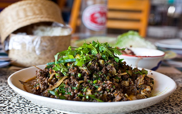 Fire ants and their eggs are main ingredients of Larb Mote Daeng