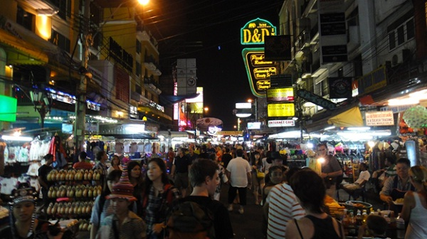 Khao San Road – for party people and shopping ones too