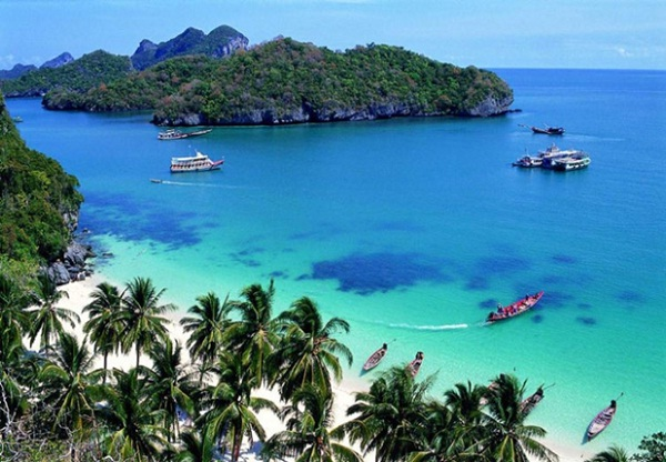 Phuket is the largest and most developed island of Thailand