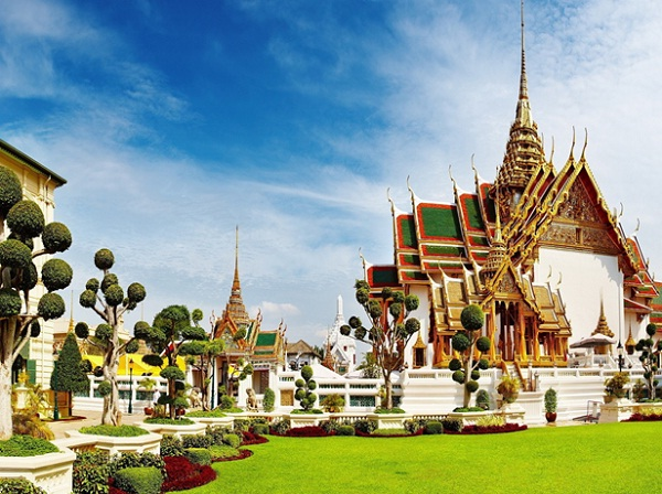 Grand Palace, the spiritual heart of the Thai Kingdom