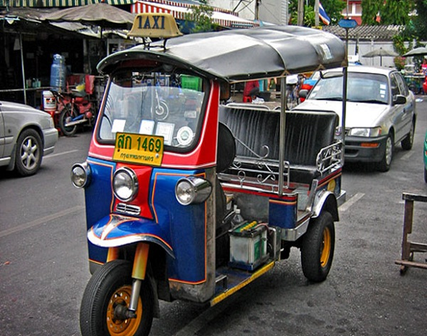 Tuk tuk is one of the best ways to get around Bangkok