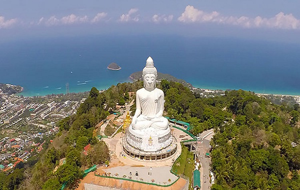 Big Buddha has become an important religious symbol for Buddhists in Phuket