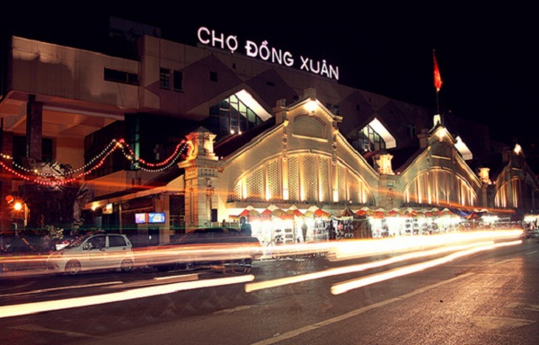 Fascinating places at weekend night in Hanoi