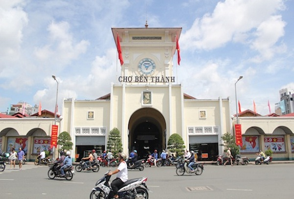 Ben Thanh Market, the symbol of Ho Chi Minh City