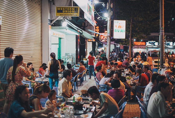 Street food is very popular in Ho Chi Minh City