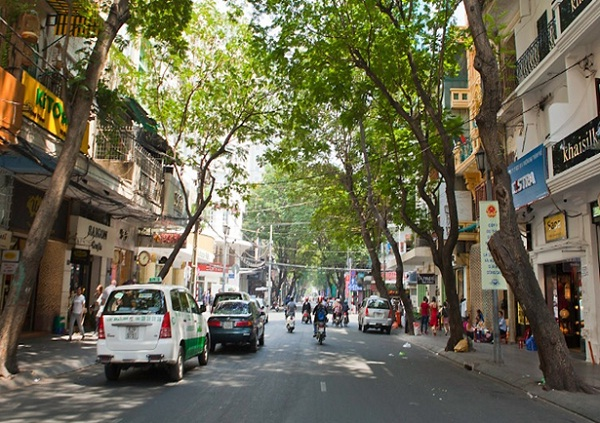 Wandering Dong Khoi Street is a must-do thing in Ho Chi Minh
