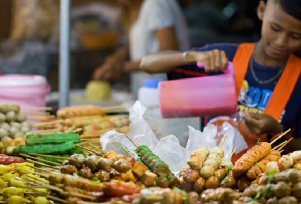 Typical Thailand food culture in Phuket Town