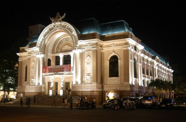 Ho Chi Minh theatre