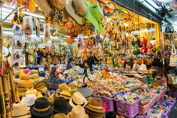 Products selling in Chatuchak Weekend Market are various