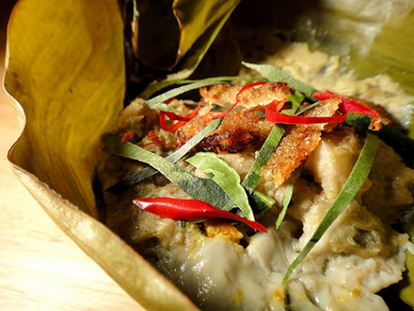 Amok is a tasty traditional Khmer in Cambodia