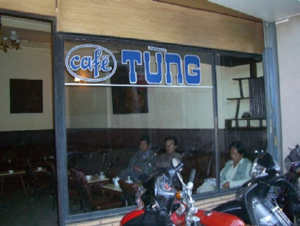 Tung Café is a famous shop in Da Lat