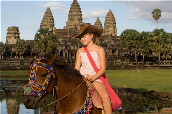 Travel to Siem Reap with kids? Here are things to please them