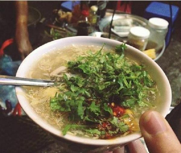 Crab soup in Da Lat