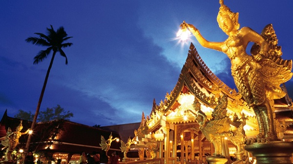 Thailand is an ideal tourist attraction