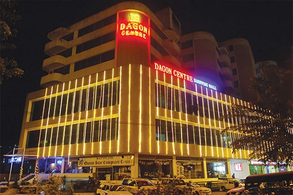 Dagon centre shopping mall
