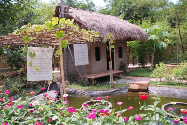 "A traditional corner in Tourist area ""The Vietnam moment"""