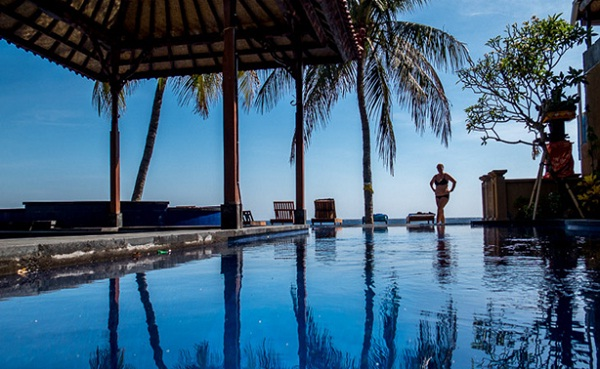 A part of Palm Beach Bungalow Resort