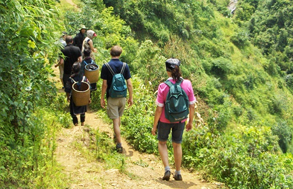 Simple trek in Vietnam