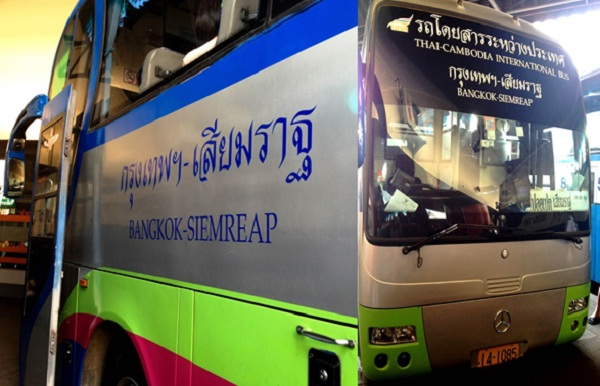 Direct bus from Bangkok to Siem Reap
