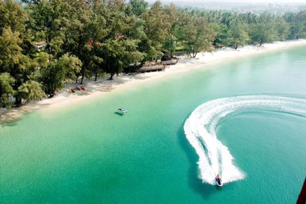 Wonderful beach in Sihanoukville