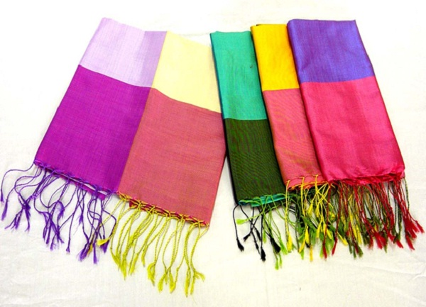Cambodian silk - interesting things to buy in Cambodia