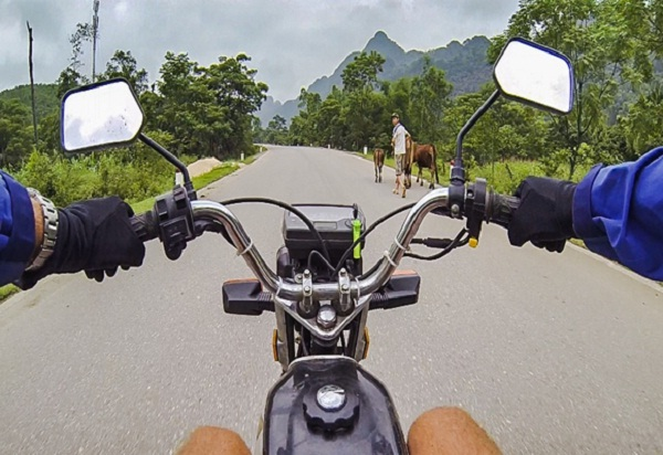 Let's explore Vietnam on back of a motorbike