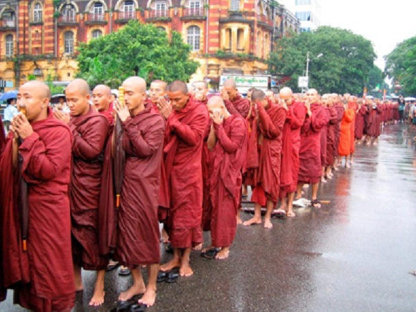 The monks is whole of spiritual life