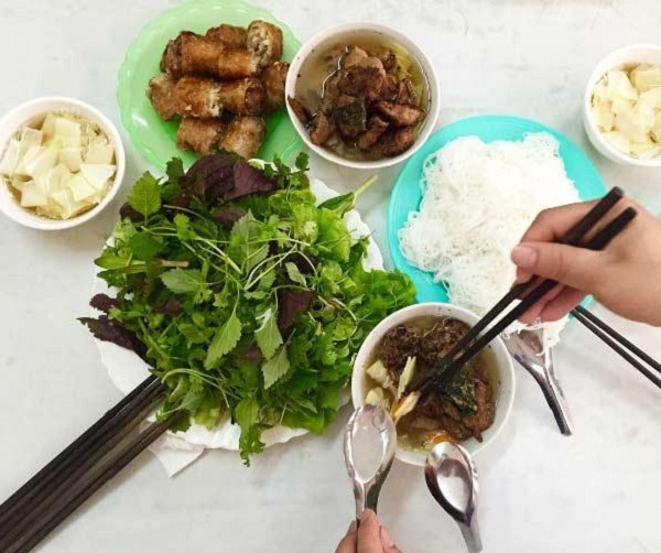 Once you try Bun cha Hanoi, you will have unforgettable experience