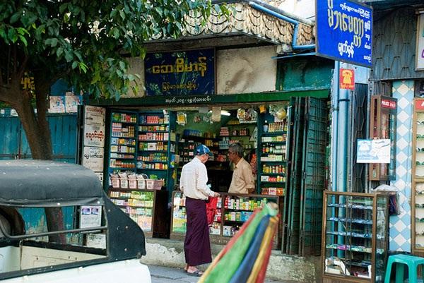 Drugstore in Myanmar