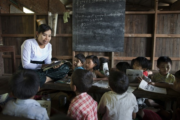 Myanmar has high literacy rate