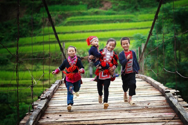 Lovely kids in Ha Giang