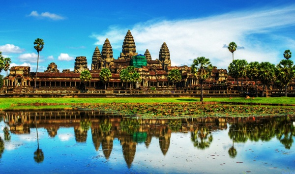 Angkor Wat - wonder of the world