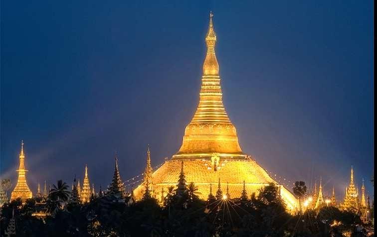 Shwedagon Pagodac