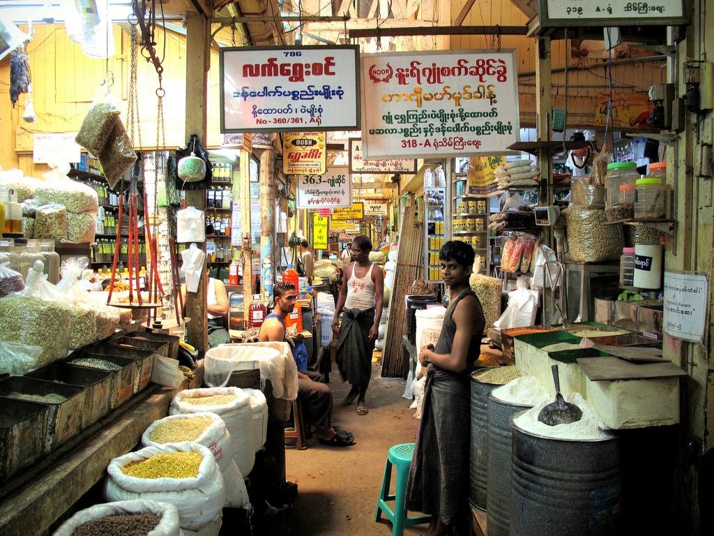 Theingyi Market, Yangon