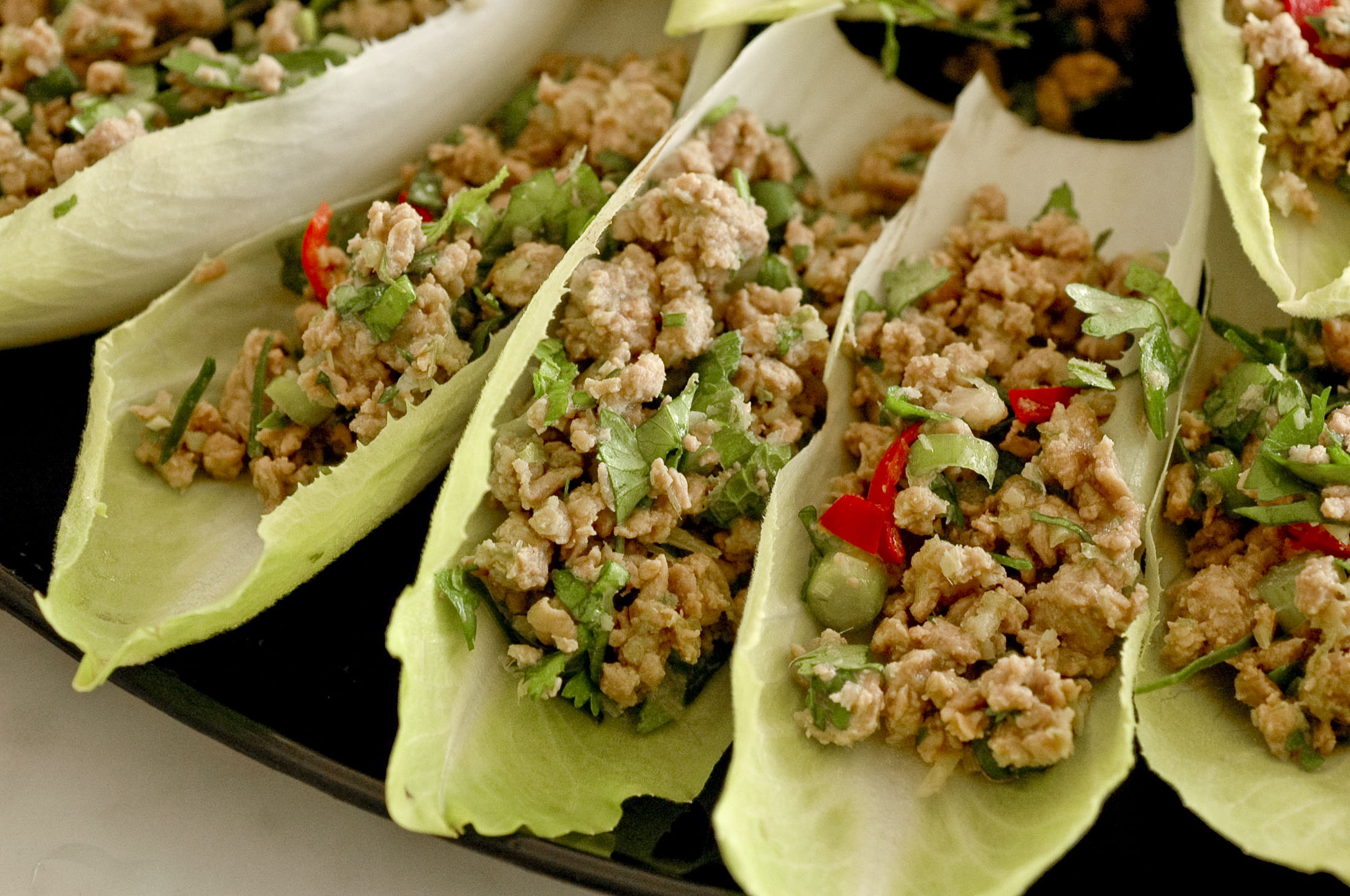Larb in Laos