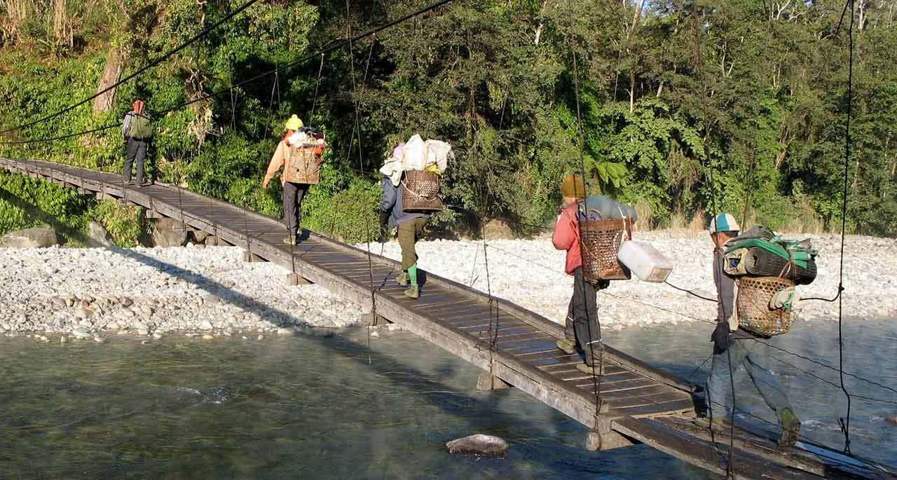 Go trekking in Myanmar