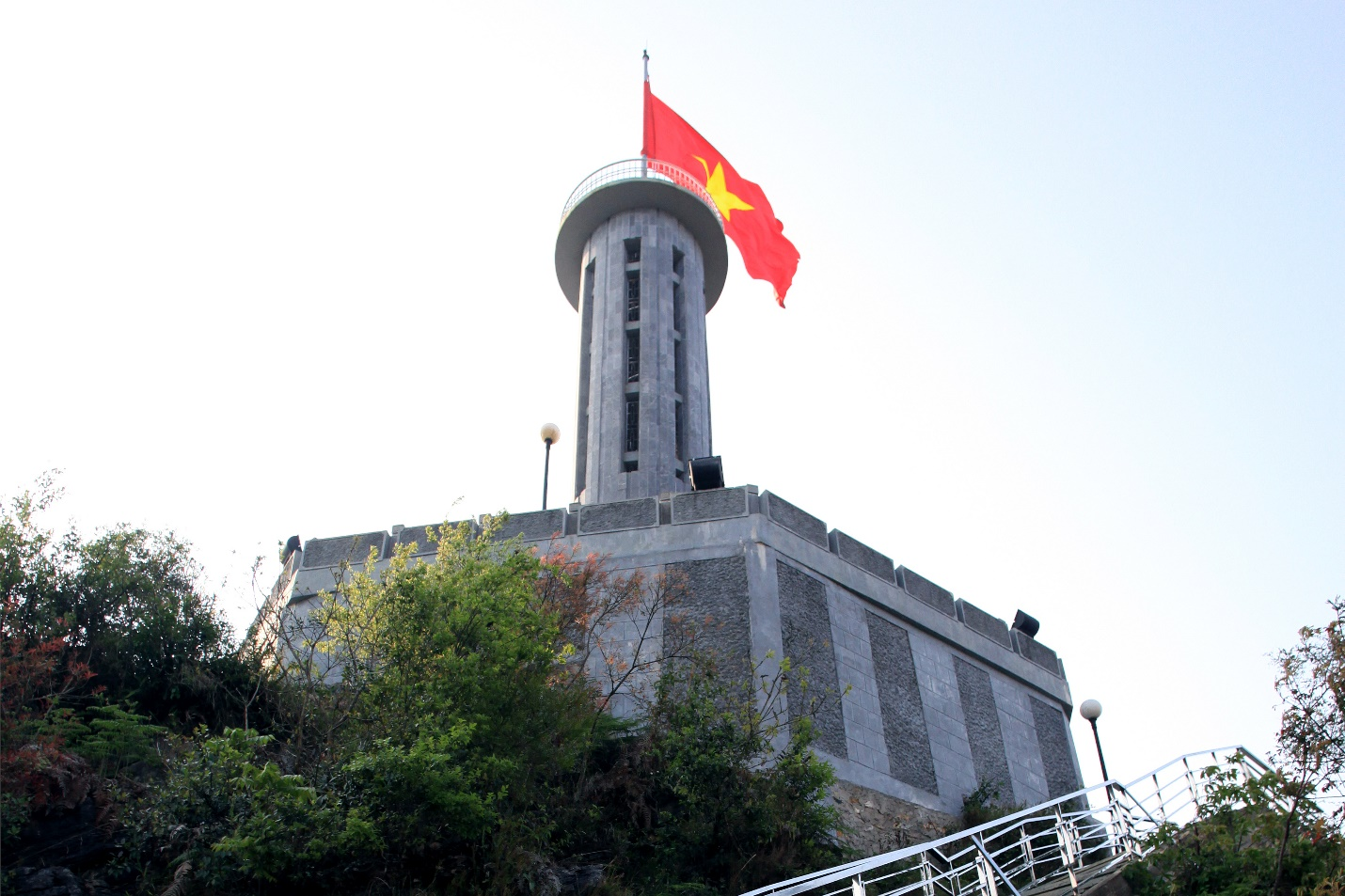Lung Cu flag pole is one of the most attractive destinations in Dong Van plateau