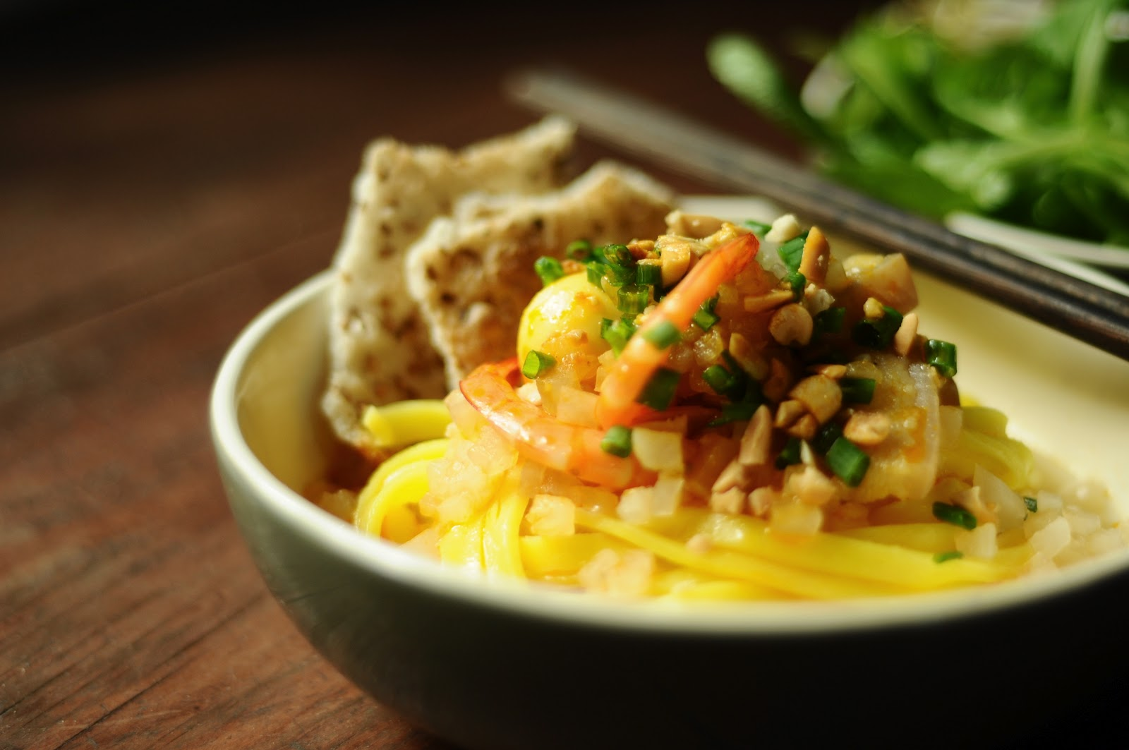 Quang noodle is so tempting to both Vietnamese and foreign tourists
