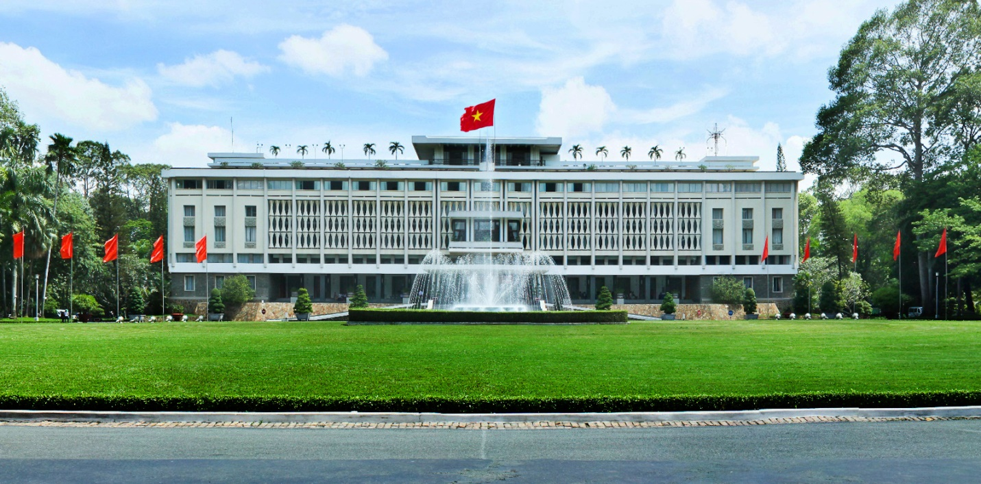 Reunification Palace in Saigon