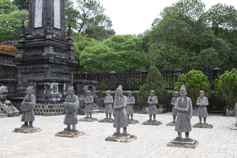 Discover the royal tombs in Hue