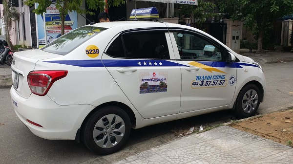 Thanh-Cong-taxi-one-of-the-cheap-taxis-in-Hanoi