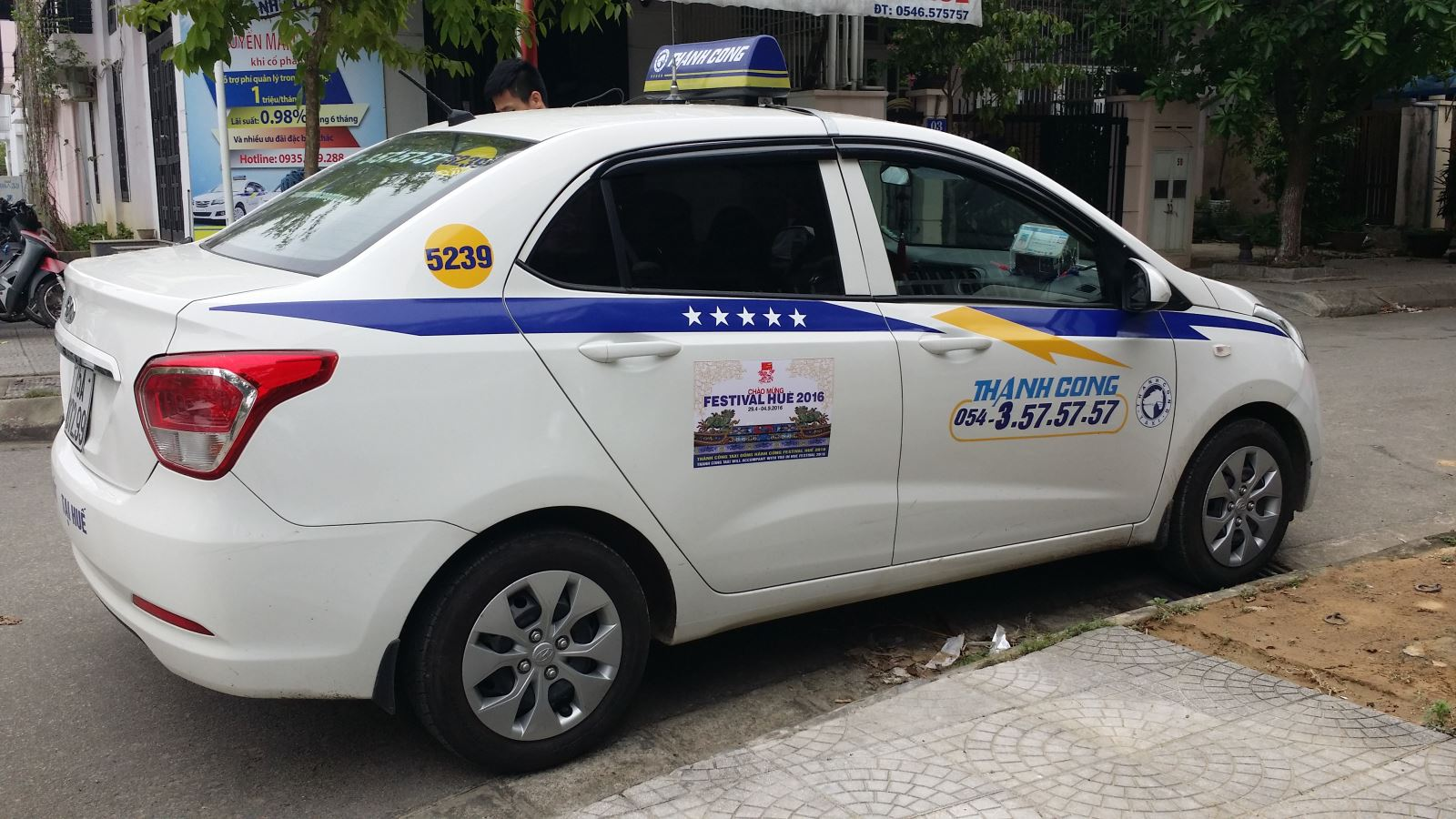 Thanh Cong taxi- one of the cheap taxis in Hanoi