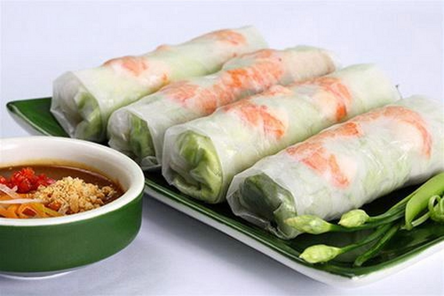 The stunning spring rolls