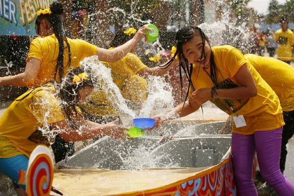 Thingyan Water Festival is strongly favored by the young
