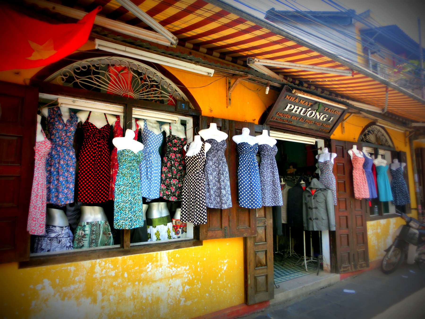 A tailor house in Hoi An