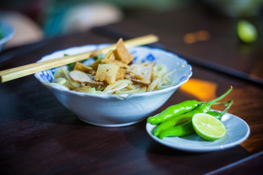 Cao Lau – a traditional dish of Hoi An people