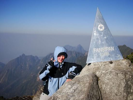Feeling on the top of Fansipan