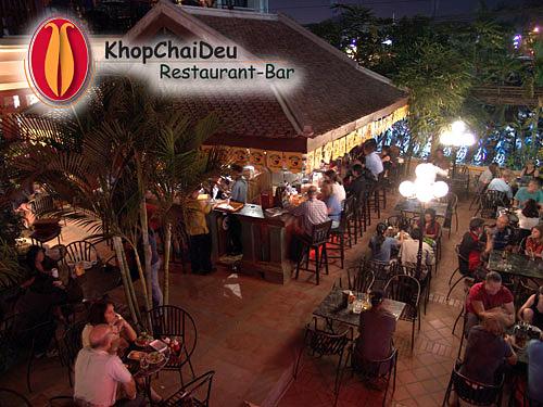 Khop Chai Deu Restaurant in Vientiane