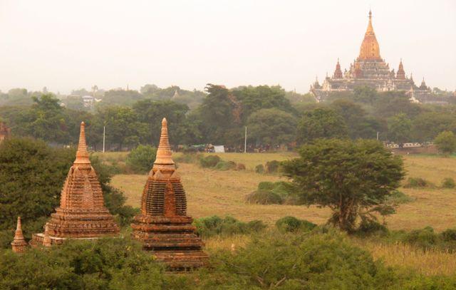 Stupas galore